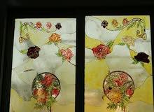 رسم على زجاج النوافذ