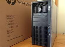 دبل برسيسور كاش 30 ميجا 12 كور HP WORKSTATION Z820 فيجا NVIDIA QUADRO 4800