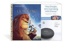 سماعة جوجل هوم ميني الذكية مع قصص ديزني