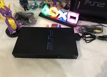 بلايستيشن 2 اصلي مع مجموعه كبيره جدا من الالعاب الجهاز مهكر ps2 PlayStation 2