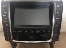 Lexus IS screen 2012