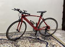 للبيع دراجة هوائية اللمنيوم مقاس 27