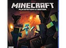 ماينكرافت Minecraft شبه جديدة للبلايستيشن 4 ps4