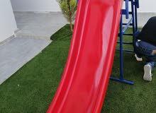 زحليقة ارتفاع 175 سم 3 متر فيبر طول