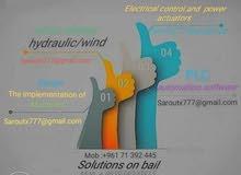 صيانة مولدات - أنظمة شمسية -نظم أتمتة وتحكم صناعي