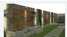 تصميم حدائق وواجهات المنزل