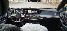 مرسيدس S550 موديل 2015 محوله S63   -2019 من الخارج ومن الداخل عداد 63
