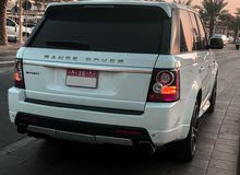 Range Rover Sport 2013 Autobiography  رنج روفر سبورت 2013 اوتوبيوغرافي ابيض وارد امريكي