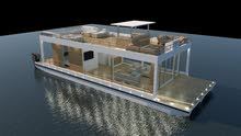Luxury Relaxation House Boat