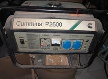مولد كهرباء بحاله جيده جدا p2600