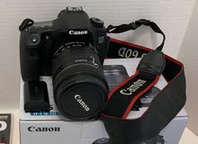 Canon EOS 60D DSLR Camera with 18~135 mm lans