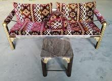 للبيع كراسي حديقه حديد وكراسي بلاستك ب جميع الالوان