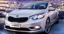 Automatic Kia 2016 for rent - Amman