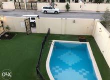 semi furnished standalone villa for rent in al waab area