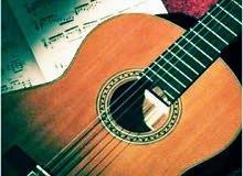 تدريب وتعليم الموسيقي واساسياتها ( غناء ئعزف جيتار وبيانو)