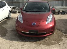 Used condition Nissan Leaf 2015 with  km mileage