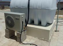 مبردات مياه للخزانات