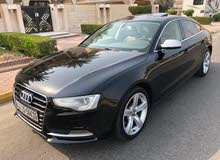 km mileage Audi A5 for sale