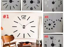 ساعة حائط 3D ب 100 ريال فقط