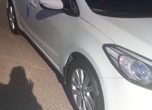 White Kia Cerato 2014 for sale