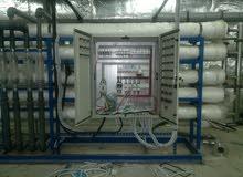 تحلية مياه وتركيب محطات وعقود صيانة للمحطات صيانة وتشغيل