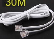 RJ-11 cable - 30M