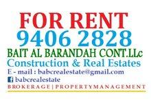 3 bhk flat for rent in AL gobra near Mars hypermarket