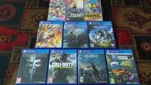 Ps4+Swtich games for sale