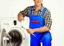 صيانة اعطال غسالات الملابس والصحون ومجفف الملابس
