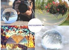 كرة كريستال للتصوير
