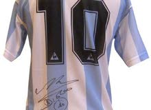 Autographed by Diego Maradona signed Argentina Jersey SHIRT Mexico 1986 World Cup Jersey Hand Signed