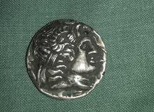 عملة الاسكندر المقدوني قطعة واحده نادرة ورائعه