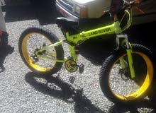 دراجه جديده ، تم شرائها يوم امس
