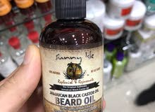 Jamaican black castor oil for beard 100% natural