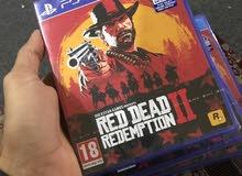 للبيع لعبة red dead 2