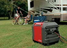 camping power and water for rent