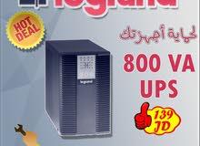 وحدات الطاقة اللامنقطعة UPS للاجهزة الالكترونية من نوع Legrand بسعة 800VA
