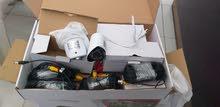 كاميرا نوع CCTV بمنظومة كاملة