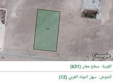 قطعة ارض معان طريق اذرح قرب مسجد سيد الانصار
