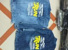 جاكت جينز خامه رباعيه روك