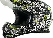 oneal helmet for off-road bikers