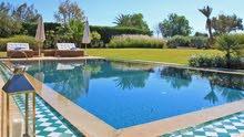 ايجار فيلا  خمس غرف بمسبح خاص في مراكش المغرب