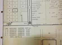 ارض سكنية للبيع رقمها 859 في جبرين 6