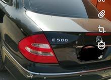للبيع مرسيدس E500 نظيفه وماعليها كلام السعر قابل للتفاوض