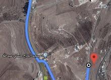 ارض ذات ارتفاع ومنسوب ومطله قريبه من اتوستراد اربد عمان