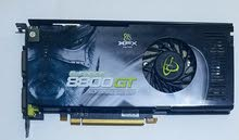 GeForce 8800 gt alpha dog edition 512mb كرت شاشة