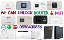 WiFi Router & MiFi Unlocking (Open Line)