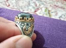 للبيع خاتم فضة
