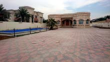 فيلا للايجار بدبي بطوار عبارة عن 4 غرف+صالة +مجلس وغرفة شغالة ، حديقة وباركن،مسبح للتواصل 0503003095