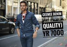شميز جينز فاخر